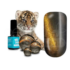 Fill&Go Tiger eye Cover géllakk 5ml TC01