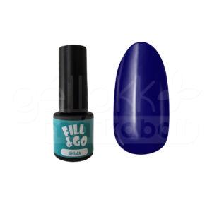 Fill&Go géllakk 4ml #046 Berlini kék