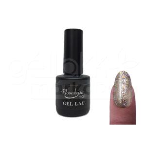 Géllakk 6ml #306 Glitteres ezüst