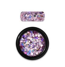 Moyra Holo glitter mix 1g No. 03. Rózsaszín